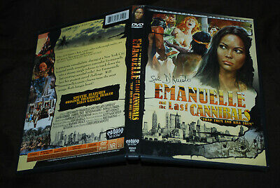 Emanuelle And The Last Cannibals - OOP R1 Shriek Show - Laura Gemser • 24.99£