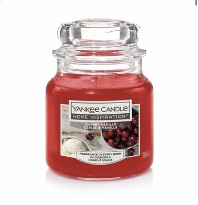 Yankee Candle Twin Pack - Cherry Vanilla & Red Velvet Brownie Small Jar - 104g • 18.99£