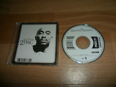 2pac - Ghetto Gospel (very Rare German  Pock It  2 Track 3  Cd Single)  • 9.95£