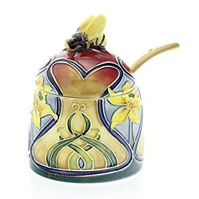 Old Tupton Ware - Daffodil Design - Honey Pot And Spoon - Jeanne McDougall • 21.95£