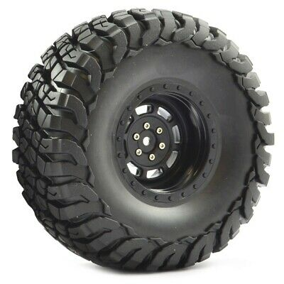 £20.68 • Buy Fastrax 1:10 Crawler Granite 2.2 Scale Wheel And#248;140Mm Tyre (Black) FAST1...