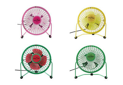AU18.55 • Buy USB Desk Fan Small Quiet Personal Cooler USB Powered Portable Table Fruity
