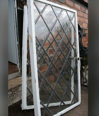 Two Steel Framed Crittall Windows • 95£