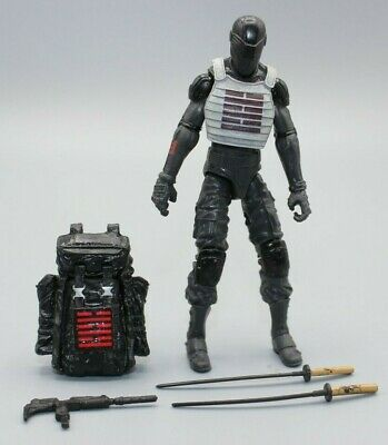 "$ CDN26.12 • Buy GI Joe CUSTOM Snake Eyes 1/18 3.75"" With Vest Ninja Arashikage"