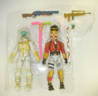 $ CDN31.46 • Buy Leviathin And Crackshot Fortnite 3.75  Action Figures And Weapons NEW Jazwares 2