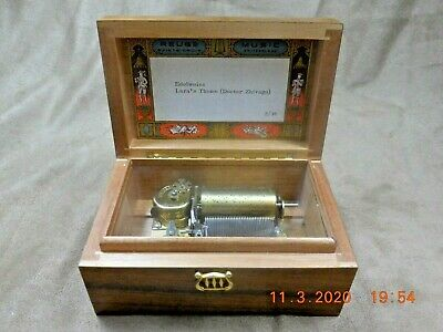 Reuge Ch 2 Tune 36 Note Music Box Plays  Edelweiss  &  Lara's Theme  (see Video) • 122.47£