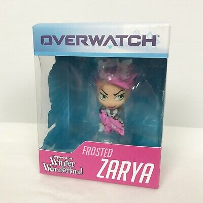 AU24 • Buy NEW Blizzard Overwatch Frosted Zarya Cute But Deadly Winter Wonderland Figure