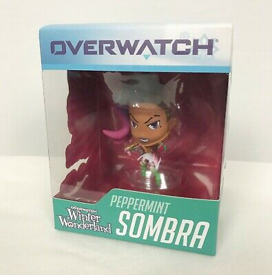 AU24 • Buy NEW Blizzard Overwatch Peppermint Sombra Winter Wonderland Figure