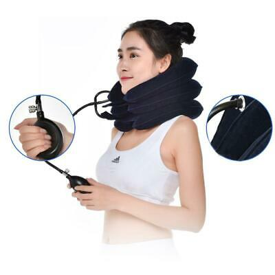 AU12.58 • Buy Air Inflatable Pillow Cervical Neck Head Pain Traction Support (sapphire)
