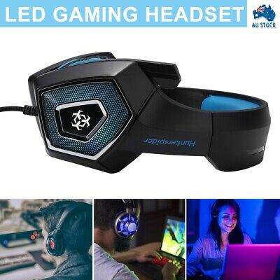 AU22.99 • Buy New Stereo Gaming Headset Headphone Wired With Mic For PC Xbox One PS4 AU