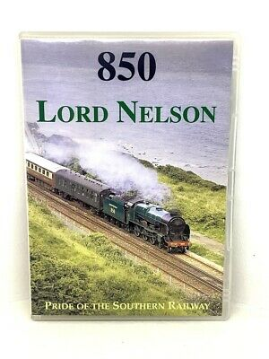 £5 • Buy Steam Railway DVD - 850 Lord Nelson Pride Of The Southern Railway