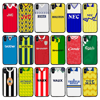 £6.95 • Buy FOOTBALL SHIRT Protective Glass Case/Cover For IPhone 6 6s 7 8 PLUS X XS Max XR