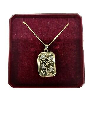 Brand New 9ct Gold Locket And Chain. Black Friday Deal. • 160£
