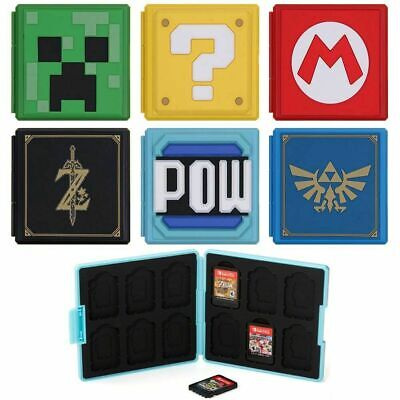 Portable Game Card Case Cover Storage Box Holder Organizer For Nintendo Switch • 4.99£