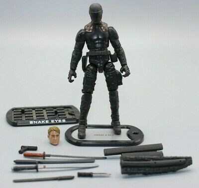 $ CDN52.25 • Buy GI Joe CUSTOM Snake Eyes 1:18 3.75 Ninja Arashikage Extra Head Classified