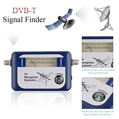DVB-T Signal Finder Digital TV Freeview HD Aerial Terrestrial Strength Meter UK • 11.99£