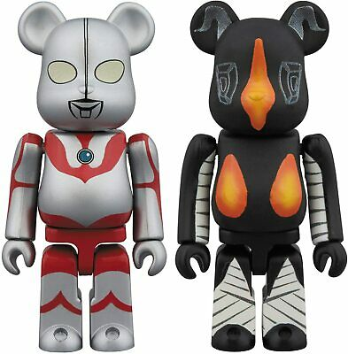 $74.90 • Buy Bearbrick Ultraman & Zetton Set Each Height Approximately 70mm Painted Finished