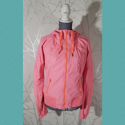 $ CDN38 • Buy Lululemon Coral Pink Swift Full Zip Street To Studio Jacket Hoodie | Women's 10