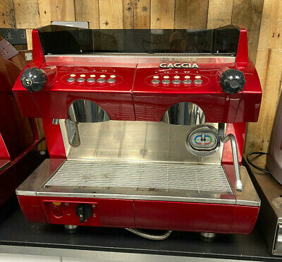 £2995 • Buy GAGGIA GD Compact 2 Group Espresso Coffee Machine RED