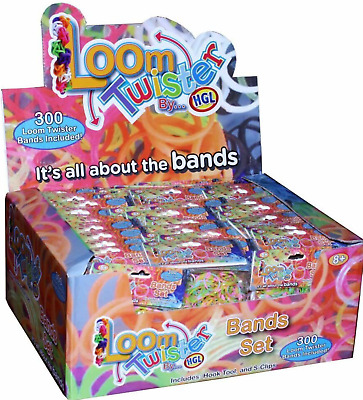 14,400 Rubber Loom Band Set Kit Assorted Bracelet Jewellery Glitter Neon Bands • 7.99£