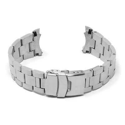 $ CDN71.35 • Buy StrapsCo Stainless Steel Metal Oyster Watch Band Strap For Seiko SKX007 - 22mm