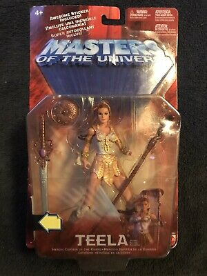 $42.99 • Buy Masters Of The Universe He-Man Mattel 2002 200X Teela Action Figure New