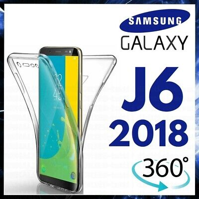 AU6.93 • Buy 360 CLEAR CASE For SAMSUNG GALAXY J6 2018 FRONT & BACK TPU SILICONE PHONE COVER
