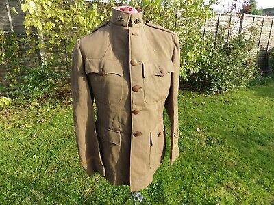 Ww1 Us Officer's Uniform 2nd Lt Tunic And Trousers American Dough Boy • 185£