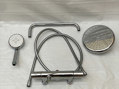 GROHE Tempesta  Thermostatic Bar Shower Kit Set USED Read  • 99.99£