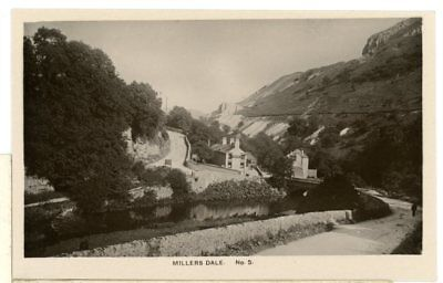 MILLERS DALE- Derbyshire RP-a5-47 • 4.99£