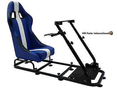 Car Gaming Racing Simulator Frame Chair Seat For Use Fits PS5 XBox Logitech • 274.99£