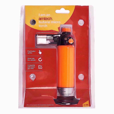 £11.70 • Buy Micro Blow Torch Gas Butane Kitchen Cooking Browning Lighter Chef Diy Soldering
