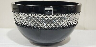 £215.91 • Buy Waterford Black Cut Crystal 8  Bowl By John Rocha- Mint Condition  With Tags