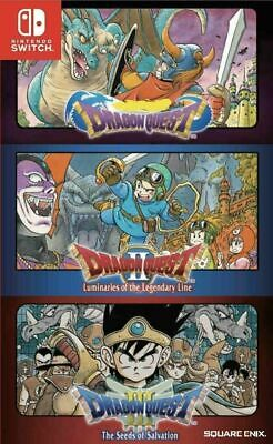 AU84 • Buy Dragon Quest Trilogy Collection 1 2 3 Nintendo Switch Brand New Sealed