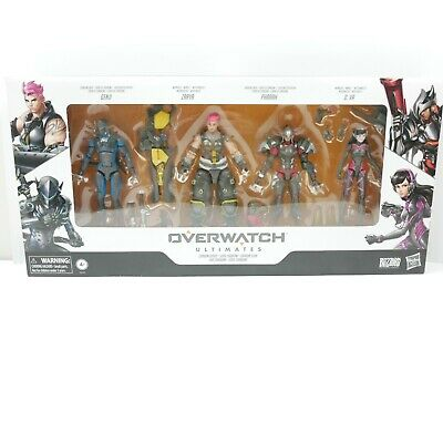 AU66.77 • Buy Overwatch Ultimate Carbon Series Action Figure 4 Pack | Brand New | Hasbro