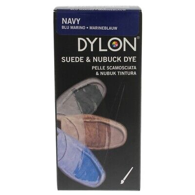 Dylon Suede & Nubuck Leather Shoe Boot Dye Repair Kit Shoe Care Navy Blue 50ml • 8.49£