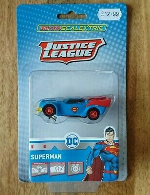 Micro SCALEXTRIC G2167 Justice League Superman's Car NEW • 12.99£