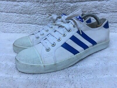 £71.95 • Buy Vintage 80's / 70's Adidas Adria Leisure White Trainers Made In Taiwan Size UK 8