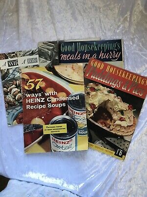 (E7) 6 Cookery Booklets Heinz, Housewife & Good Housekeeping 1950s  • 8£