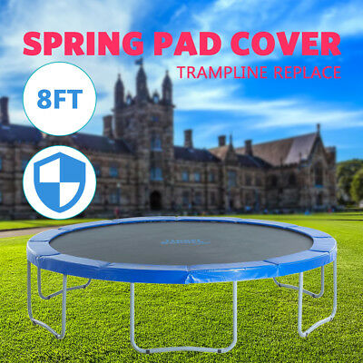 AU39.99 • Buy AU New 8FT Replacement Reinforced Round Trampoline Safety Pad Cover
