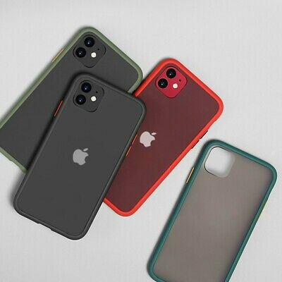Case For IPhone XR 7 8 Plus 11 12 Pro Max XS Shockproof Hard Back Phone Cover • 4.99£