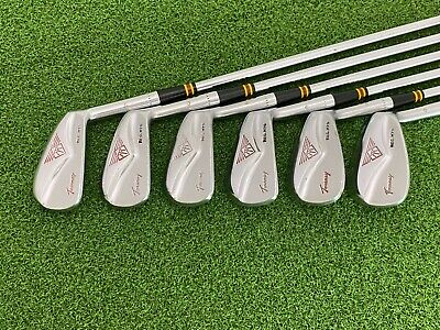 $89.99 • Buy RARE MacGregor Golf TOURNEY MT M75 Iron Set 4-9 Right Steel Matching #'s Leather