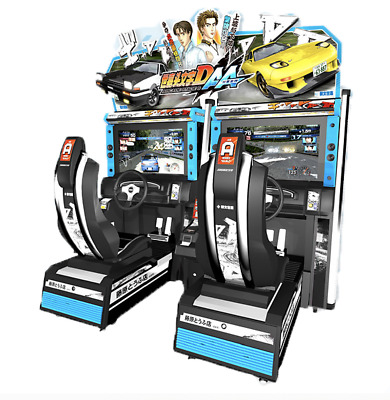 £14413.57 • Buy 2-Player Lnitial D Stage 6 Arcade Street Racing Coin Operated Machine SEE VIDEO
