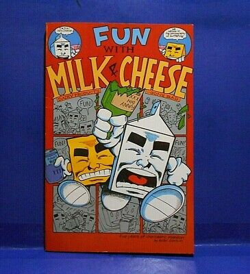 $10 • Buy FUN WITH MILK & CHEESE Trade Paper Back 1994 1st Print Slave Labor Edition