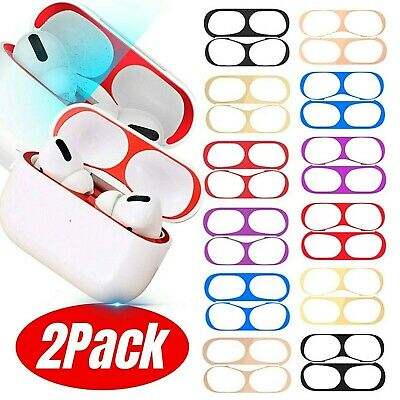 $ CDN10.06 • Buy 2Pack Metal Dust Guard Protective Film Sticker For Apple Airpods Pro Accessories