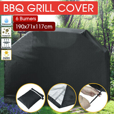 AU20.99 • Buy Waterproof BBQ Cover 6 Burner Outdoor Gas Charcoal Barbecue Grill Protector