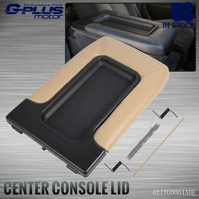 $20.90 • Buy Center Console Fit For 1999-07 Chevy Silverado 19127366 Lid Armrest Latch Beige