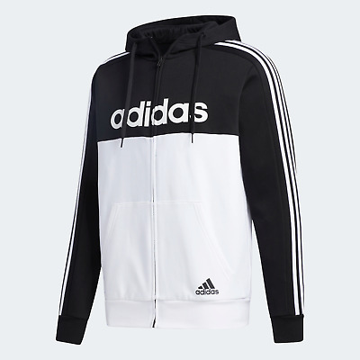 Adidas Mens Essentials Colorblock Hooded Track Top Bold Style  • 54.99£