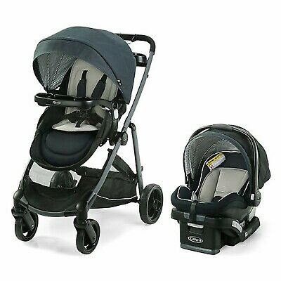 Graco Modes Baby Stroller With Car Seat Travel System Set • 243.13£