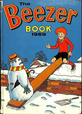 The Beezer Book 1969, D C Thomson, Good Condition Book, ISBN • 5.51£